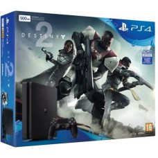 PlayStation 4 SLIM Bundle (500 Gb, Destiny 2), , Консоли